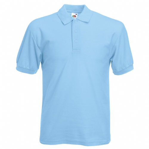 Elfed High School Sky Blue Sports Polo
